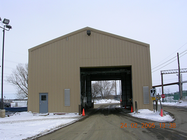 Drive Thru Inspection Building 3