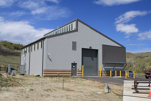 Vehicle Maintenance Building 1