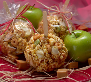 Caramel Apple Popcorn Crunch