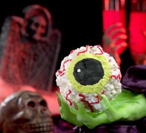 Ghoulishly Fun Halloween Popcorn Balls