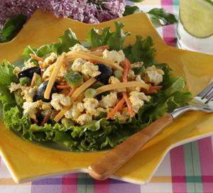 Crunchy Popcorn Salad Recipe