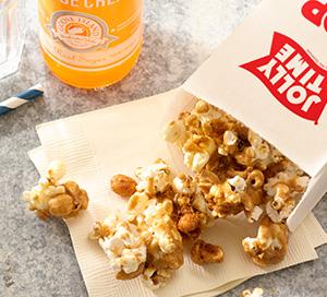 World's Fair Butterscotch Glazed Popcorn Crunch