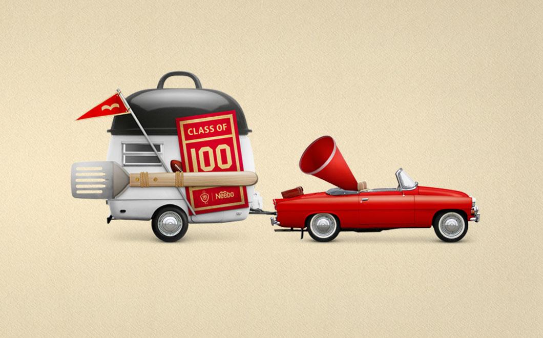 NBC 100 branding & design | Agent