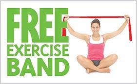 free exercise band