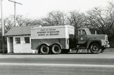 Oregon Department of Weights and Measures truck