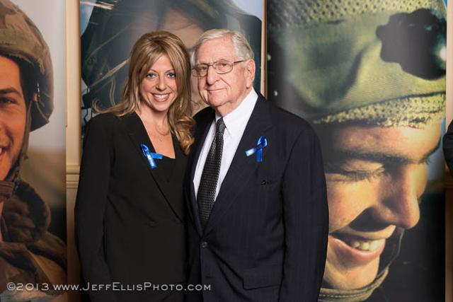 Larry Goodman with granddaughter Lindsey Lopatin
