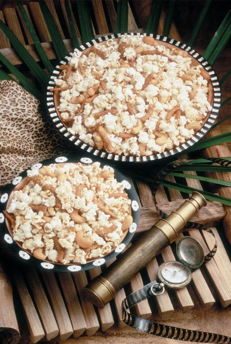 Asian Sesame Soy Sauce Popcorn Recipe