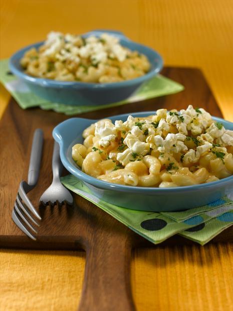 Mac and Cheese Popcorn Salad Recipe