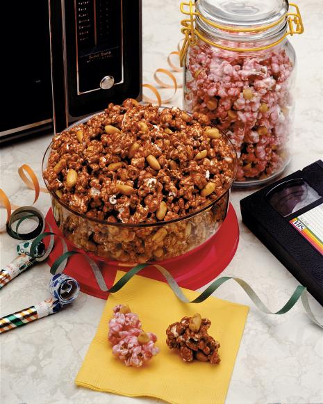 Peanut Butter & Jelly Popcorn Recipe