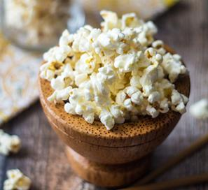 Wasabi Ginger Popcorn