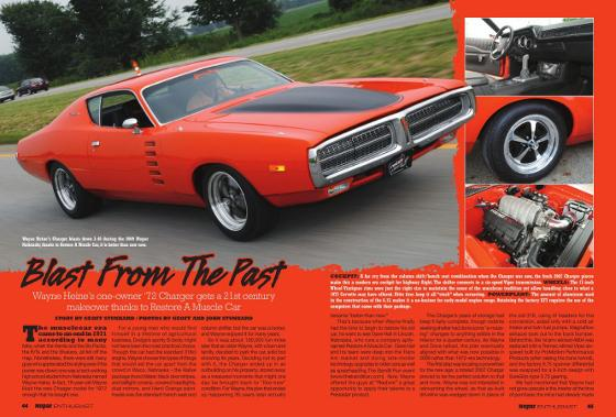 Mopar Enthusiast 1972 Charger Custom Restoration Orange Hemi