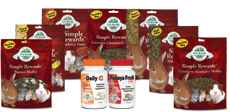 Healthy Treats and Supplements Options from Oxbow