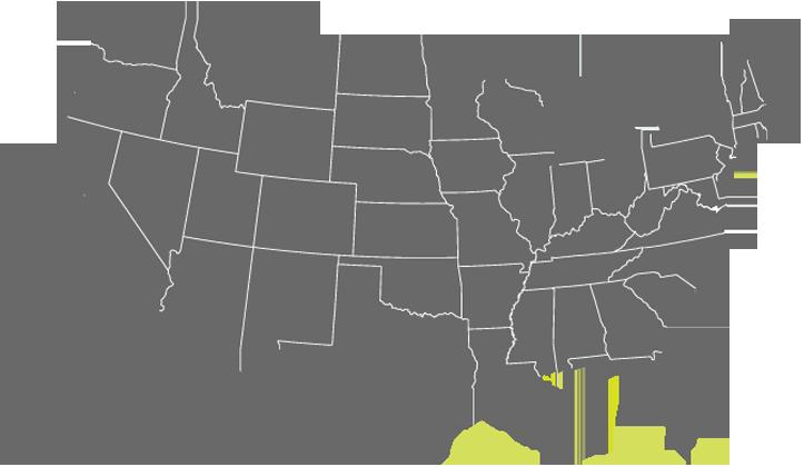 CED Career Fair map